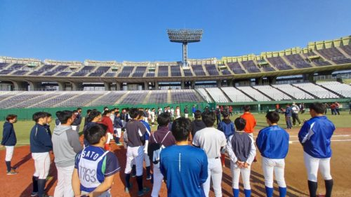 日本プロスポーツ専門学校presents ルートインBCL合同トライアウト